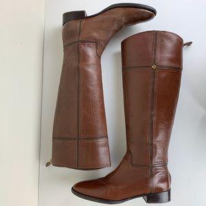 Tory Burch Juliet Brown Riding Boots Sz 9M